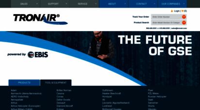 tronair.com - tronair : aircraft ground support equipment gse