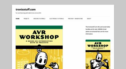 tronixstuff.com - tronixstuff - fun and learning with electronics