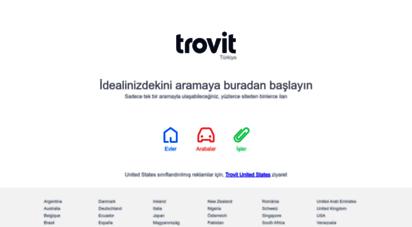 trovit.com.tr - trovit - ev, iş ve araba ilanları için bir arama motoru