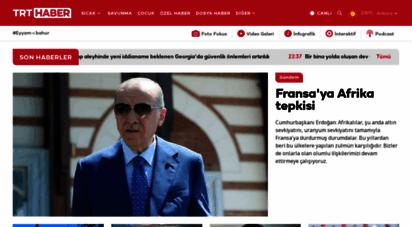 trthaber.com - trt haber - türkiye´nin haber kaynağı