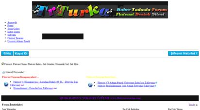 trturka.com - trturka flatcast türkçe destek sitesi