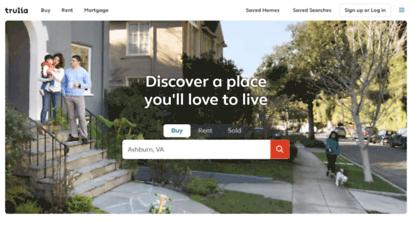 trulia.com - trulia: real estate listings, homes for sale, housing data