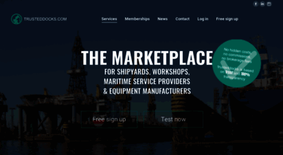 trusteddocks.com - the matchmaking platform find shipyards - discover.trusteddocks.com