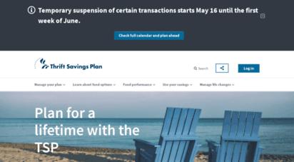 tsp.gov - home  thrift savings plan