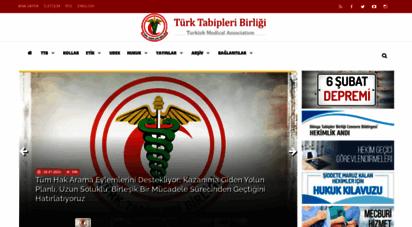 ttb.org.tr - ttb  türk tabipleri birliği