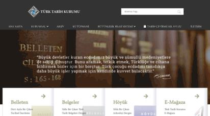 ttk.gov.tr - türk tarih kurumu başkanlığı