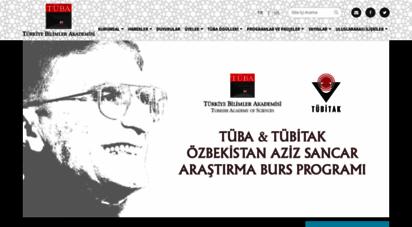 tuba.gov.tr - türkiye bilimler akademisi