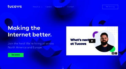 tucows.com - tucows  making the internet better since 1993