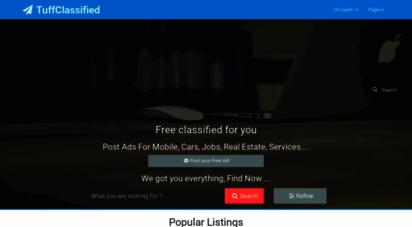 tuffclassified.com - free classifieds ads in india buy/sell/rent - tuffclassified
