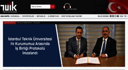tuik.gov.tr - ..::türkiye istatistik kurumu web sayfalarına hoş geldiniz::..