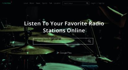 tuneyou.com - listen to online radio stations worldwide  tuneyou &copy