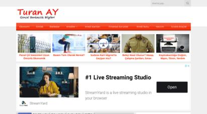 turanay.com.tr - bankacılık bilgileri - güncel ekonomi bilgileri