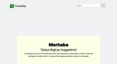 turkcebilgi.com