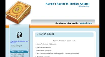 turkcekuran.net -