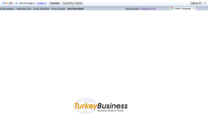 turkeybusiness.com