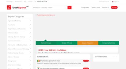 turkishexporter.net - turkishexporter.net - manufacturers, suppliers and products in turkey