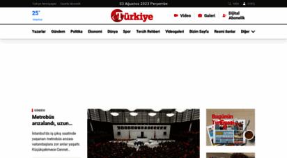 turkiyegazetesi.com.tr - türkiye gazetesi son dakika internet haberleri