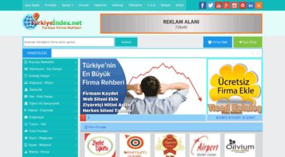turkiyeindex.net - firma rehberi - turkiyeindex.net - firma ekle