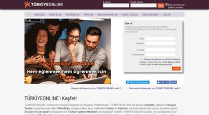 turkiyeonline.com - türkiyeonline  türkiye´nin sosyal paylaşım ve alışveriş platformu