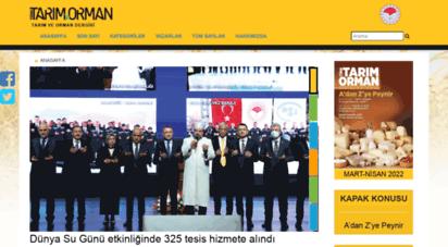 turktarim.gov.tr - türk tarım orman dergisi