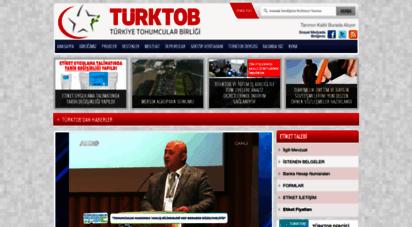 turktob.org.tr - türktob - türkiye tohumcular birliği web sitesi