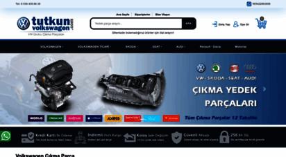 tutkunvolkswagen.com - türkiye´nin en hesaplı online volkswagen çıkma parça sitesi tutkunvolkswagen.com