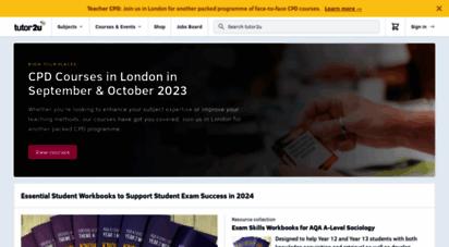 tutor2u.net - tutor2u  the exam performance specialists