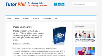 tutorphil.com - new home - how to write an essay