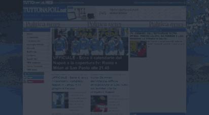 tuttonapoli.net - tutto napoli: notizie sul napoli