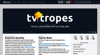 tvtropes.org - tv tropes