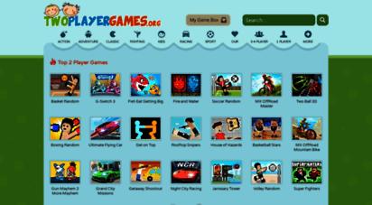 similar web sites like twoplayergames.org