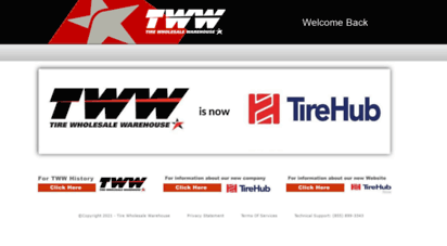 Tire Wholesale Warehouse >> Welcome To Twwonline Com Welcome To Tww Tire Wholesale