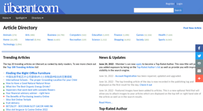 uberant.com - article directory  uberant