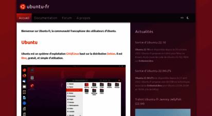 ubuntu-fr.org - ubuntu-fr  communauté francophone d´utilisateurs d´ubuntu