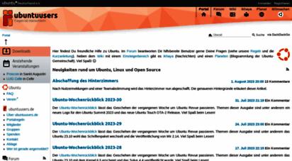 ubuntuusers.de - portal › ubuntuusers.de
