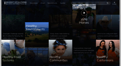 ucanr.edu - division of agriculture and natural resources