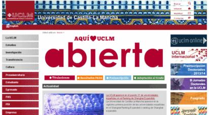 uclm.edu -