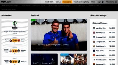 uefa.com - the official website for european football  uefa.com