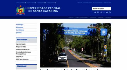 ufsc.br - universidade federal de santa catarina