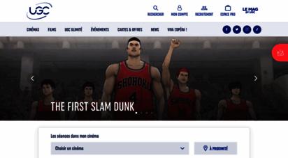ugc.fr - ugc : films à l´affiche, horaires des séances, réservation en ligne