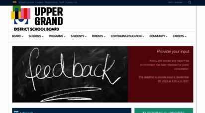 ugdsb.ca - upper grand district school board