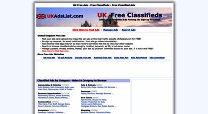 ukadslist.com - uk free classifieds - free ads