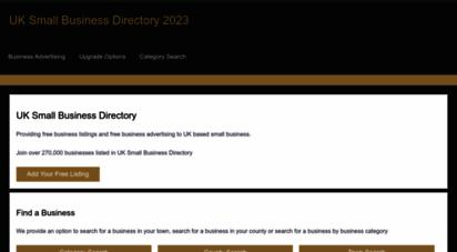 uksmallbusinessdirectory.co.uk - business directory : uk small business directory