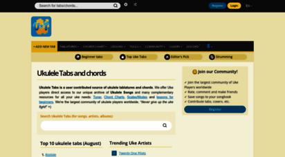 ukulele-tabs.com - ukulele tabs and chords