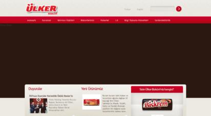 ulkerbiskuvi.com.tr - ülker  bisküvi sanayi a.ş.