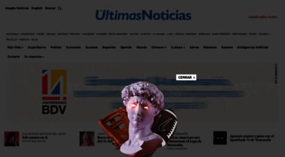 ultimasnoticias.com.ve -  últimas noticias