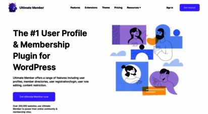 ultimatemember.com - free community & user profile wordpress plugin  ultimate member