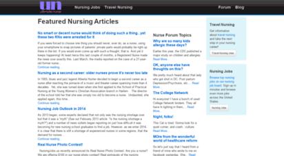 ultimatenurse.com - travel nursing, rn jobs, and nursing forums at ultimate nurse