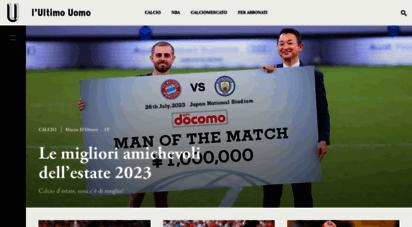 ultimouomo.com - l´ultimo uomo  sport & cultura