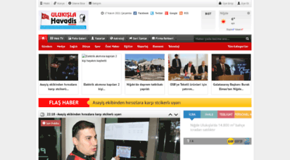ulukislahavadis.com - ulukışla havadis gazetesi